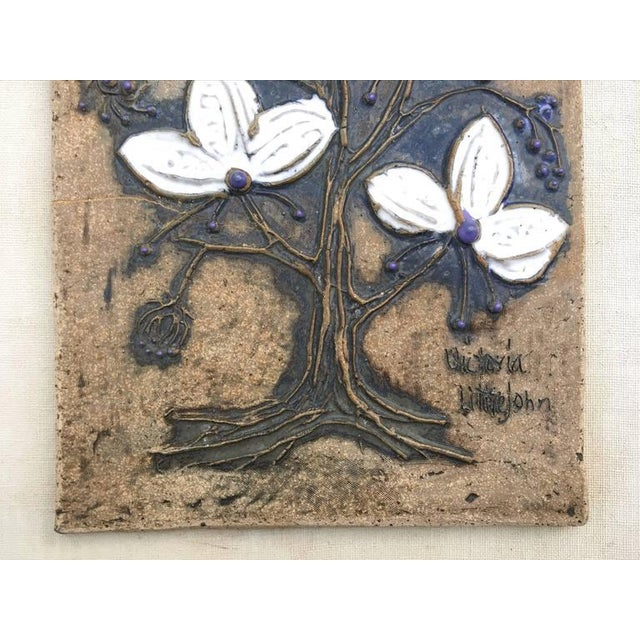 Ceramic Ceramic Tile Wall Art by Victoria Littlejohn For Sale - Image 7 of 8