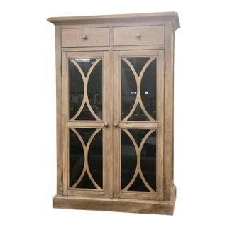 Rustic Fairfield Chair 2-Door Cabinet For Sale