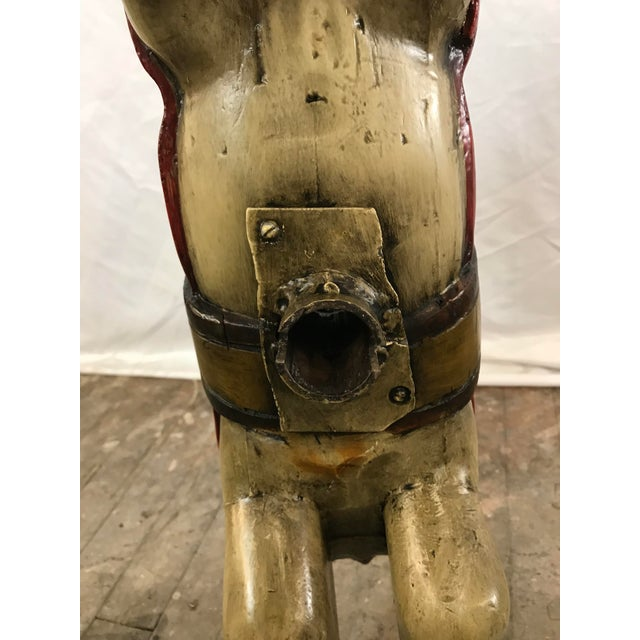 Paint Early 20th Century Antique Carved Wooden Carousel Horse For Sale - Image 7 of 11