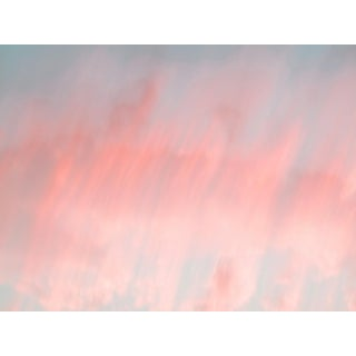 Contemporary Abstract Clouds Framed Photographic Color Print For Sale