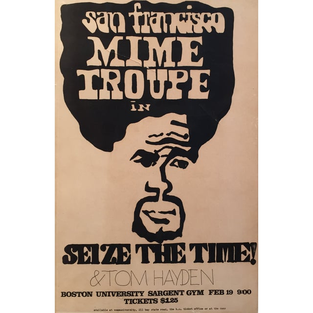 1960's San Francisco Mime Troupe Original Poster - Image 1 of 4