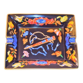 Hermes Marqueteries De Pierres d'Orient Et d'Occident Pattern Porcelain Tray For Sale