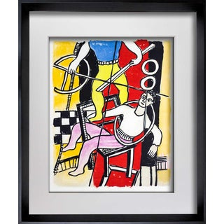 1950s Vintage Fernand Leger Cirque Original Lithograph Print For Sale