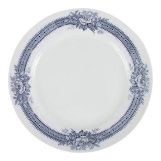 Vintage Villeroy & Boch Alba Mettlach Plate For Sale