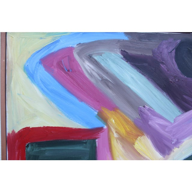 1986 Vintage Expressionist Painting - Image 7 of 10