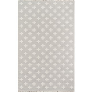 Novogratz by Momeni Topanga Lucille in Grey Rug - 4'X6' For Sale