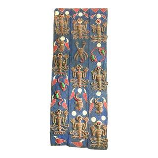 Yoruba Micro Beaded Door Panel For Sale