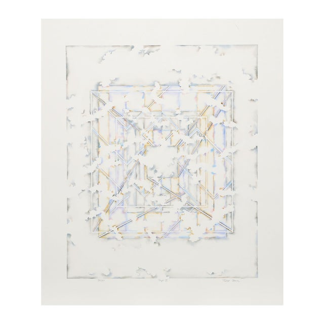 "Todd Stone ""Shift II"" Lithograph For Sale"