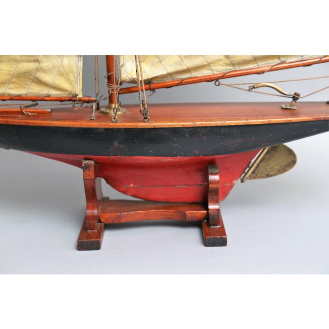 19th-Century English Pond Yacht Schooner For Sale - Image 5 of 8