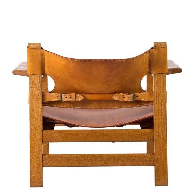 "Børge Mogensen ""Spanish"" Chair - Image 8 of 10"