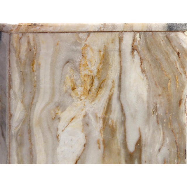Modern Octagonal Marble Pedestal - Image 5 of 8