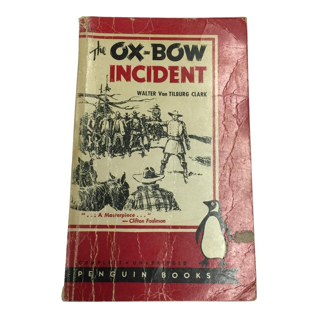 The Ox-Bow Incident by Van Tilburg Clark 1943 For Sale