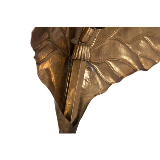 Carlo Giorgi Brass Table Lamp, Italy, 1970s For Sale - Image 9 of 12