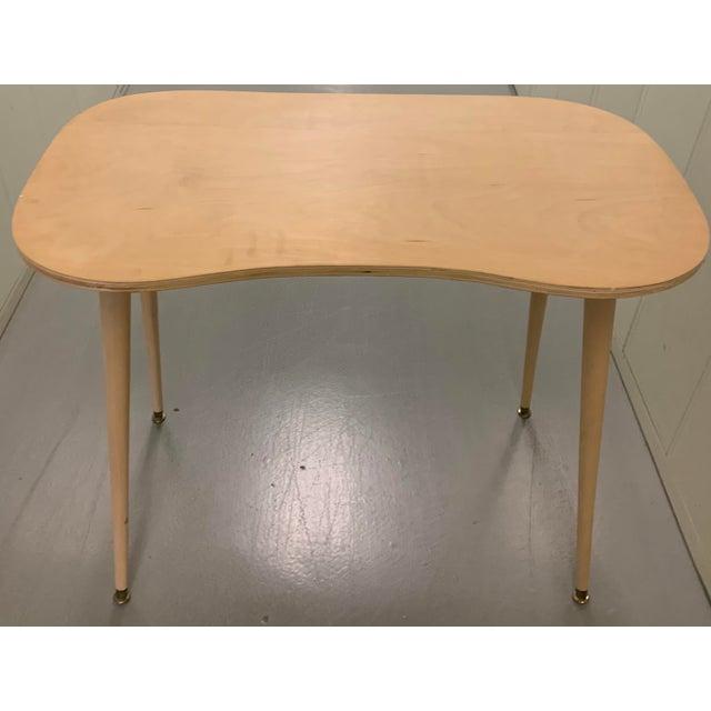 Custom Brunschwig & Fils Fabric Skirted Vanity Table For Sale In New York - Image 6 of 12
