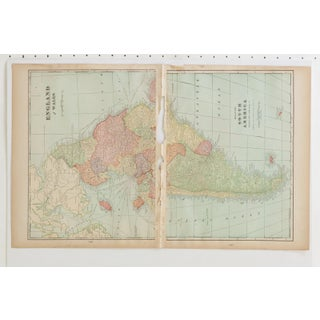 Cram's 1907 Map of Europe Preview