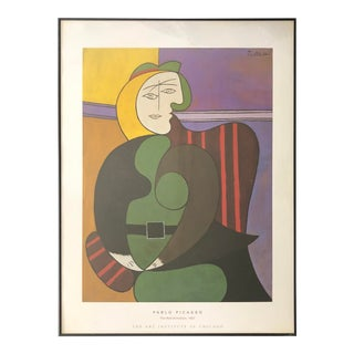 "Picasso Print Framed ""The Red Armchair"" For Sale"