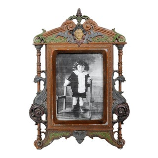 Antique Art Nouveau Photo Frame For Sale