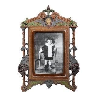 Antique Art Nouveau Photo Frame For Sale