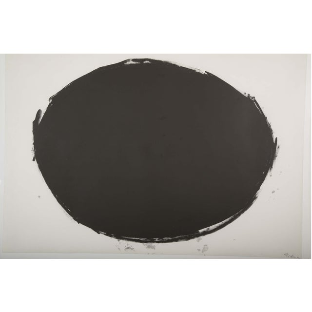 """A Richard Serra lithograph titled """"Spoleto Circle."""" Numbered 44/65 Lithograph, on Fabriano Italia paper published by..."""