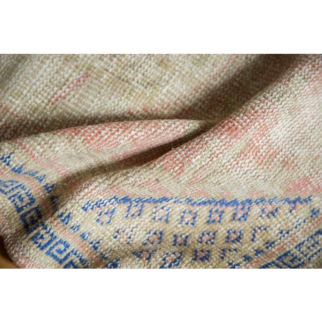 "Boho Chic Vintage Distressed Oushak Square Rug - 2'10"" X 4' For Sale - Image 3 of 9"
