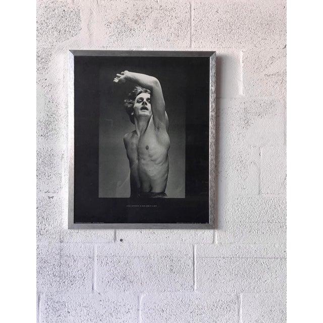 Contemporary Vintage Mikhail Baryshnikov: Le Jeune Homme Et La Mort Framed Poster. For Sale - Image 3 of 11