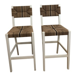 Modern Carson Counter Stools- A Pair For Sale