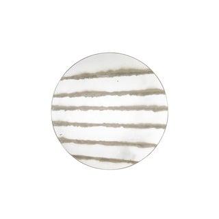 Contemporary Round Stripe Mirror For Sale