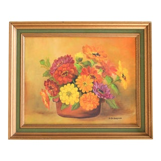 Painting of Flowers For Sale