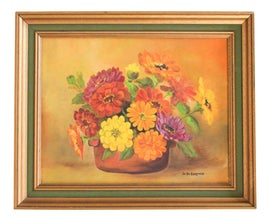 Image of Newly Made Flower Paintings