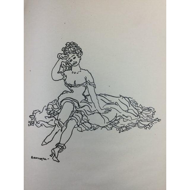 1923 Parisiennes Drawing Print by Remy De Gourmont & André Rouveyre For Sale - Image 9 of 12