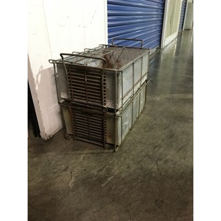 Vintage Industrial Storage Crates - Set of 2 Preview