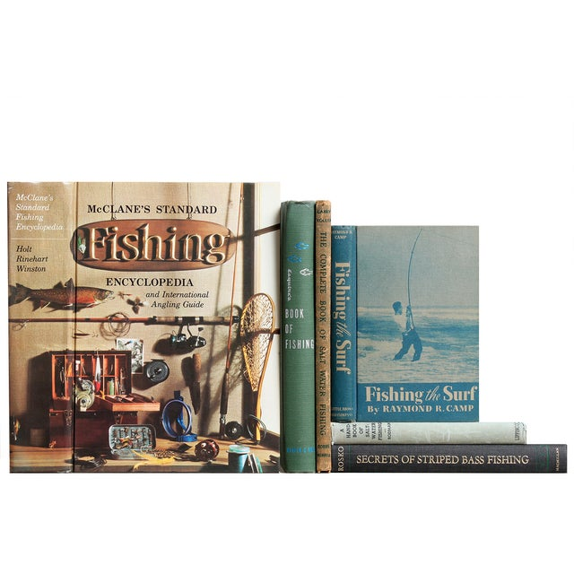 The Angler's Life Vintage Books - Set of 6 - Image 1 of 2