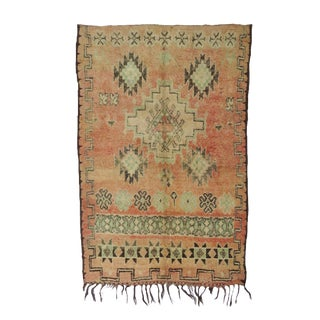 Tribal Boujad Vintage Rug For Sale