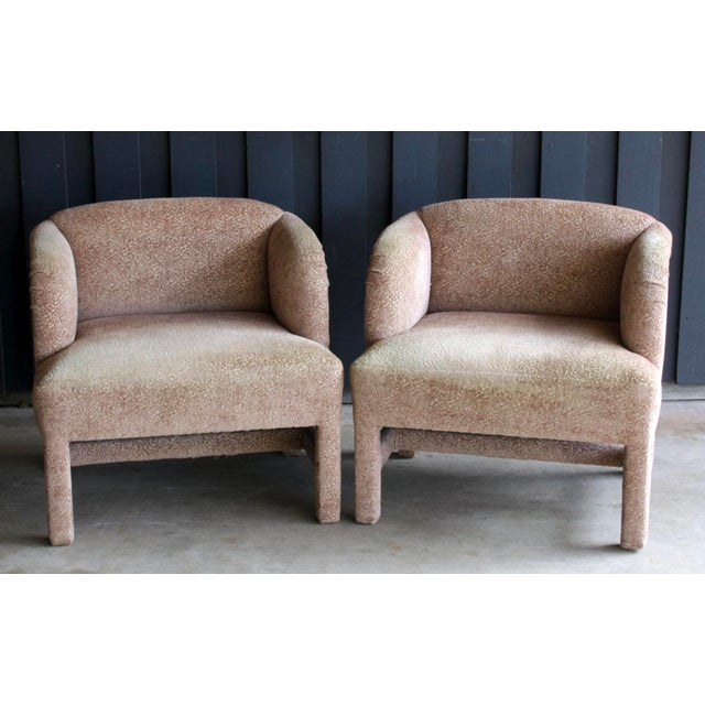 1980's Contemporary Chairs, a Pair For Sale - Image 10 of 13