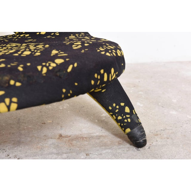 Yellow Arabesque Organic Shape Chair Designed by Folke Jansson, Sweden For Sale - Image 8 of 9