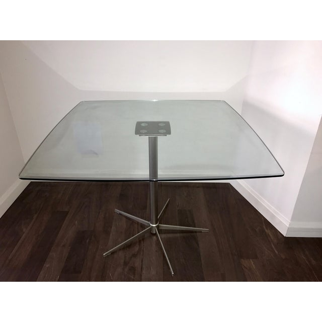 Square Glass Dining Table - Image 3 of 10