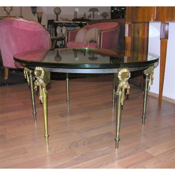 French French Cocktail Table by Maison Jansen For Sale - Image 3 of 6