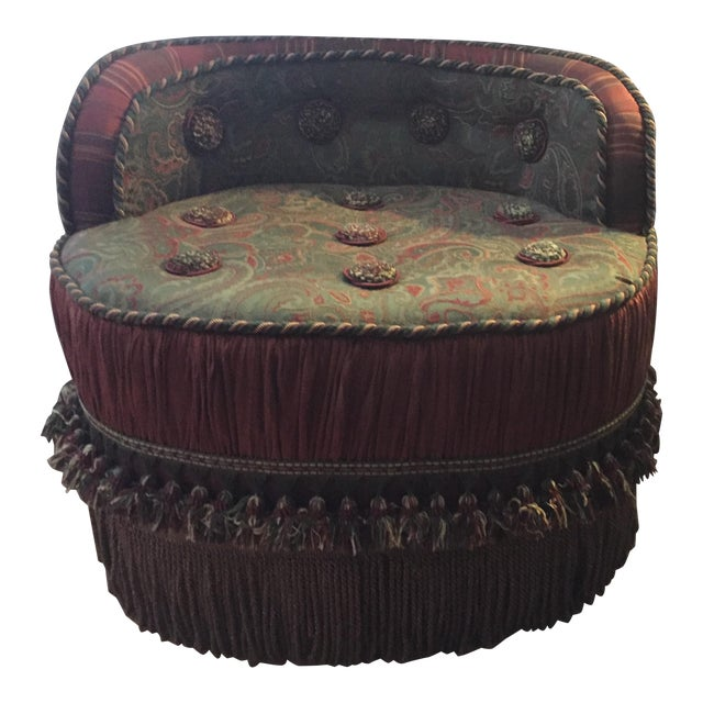 Morrocan Style Ottoman Chair For Sale