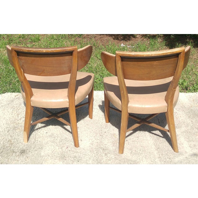 Mid-Century Slipper Chairs by Drexel - A Pair - Image 5 of 5