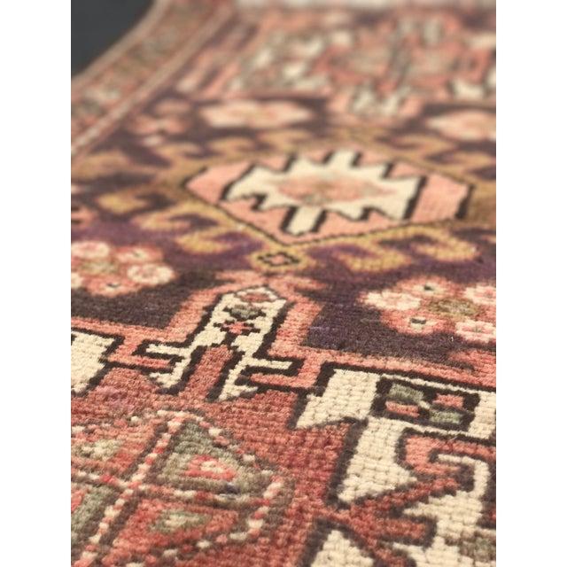 "Vintage Persian Hamadan Rug - 2' x 3'5"" - Image 11 of 11"