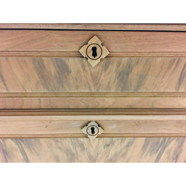 19th C. Mahogany & Marble Chest For Sale - Image 4 of 11
