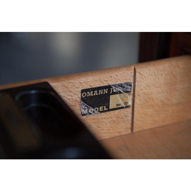 Gunni Omann Mid-Century Model 77 Rosewood Desk - Image 8 of 9