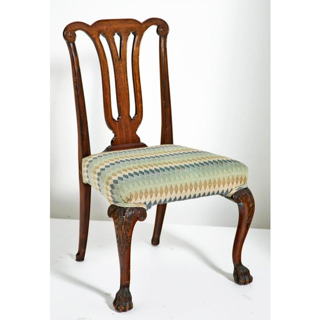 Mid 19th Century Chippendale Style Side Chairs - Set of 4 For Sale - Image 4 of 7
