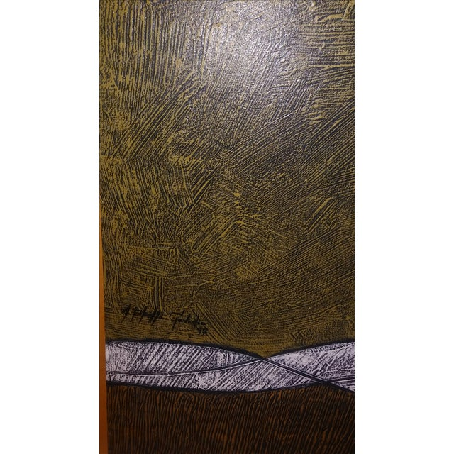 Milton Estrella-Gavidia Large Abstract Painting For Sale - Image 5 of 10