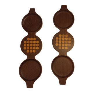 Vintage Quistgaard Dansk Cheese Boards - a Pair For Sale