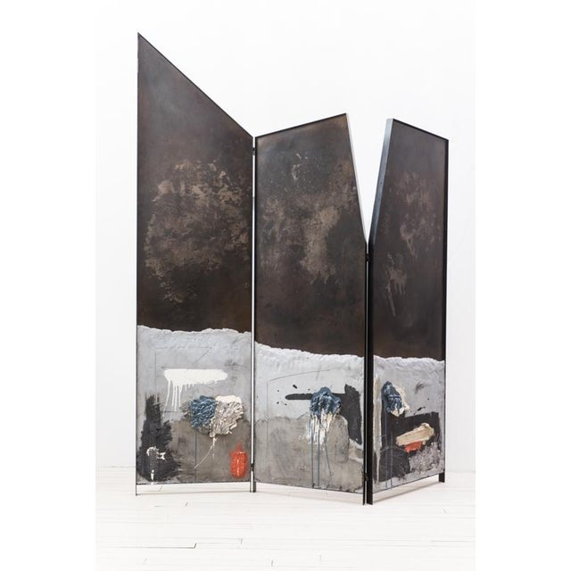 Screen Triptych, Usa, 2019 For Sale - Image 11 of 11