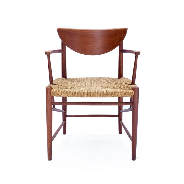 1960s Vintage Danish Teak Chair For Sale In Seattle - Image 6 of 6