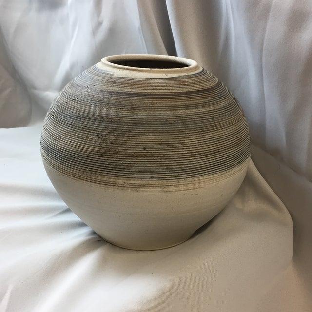 Large Sand Grain Pottery Vase Chairish