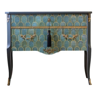 Louis XV Commode With Marble Top For Sale