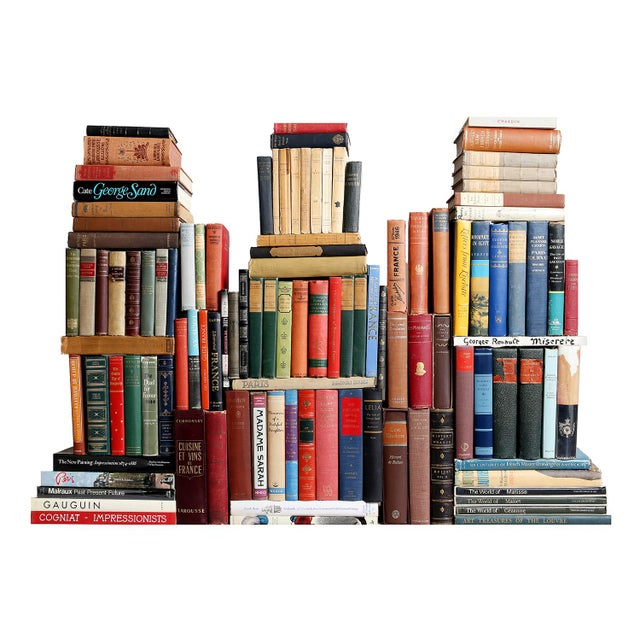 Curated French Books - Set of 100 - Image 1 of 3